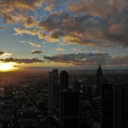 Frankfurt Skyline - Germany, Panasonic DMC-GH3, Lumix G X Vario 12-35mm F2.8 Asph. Power OIS