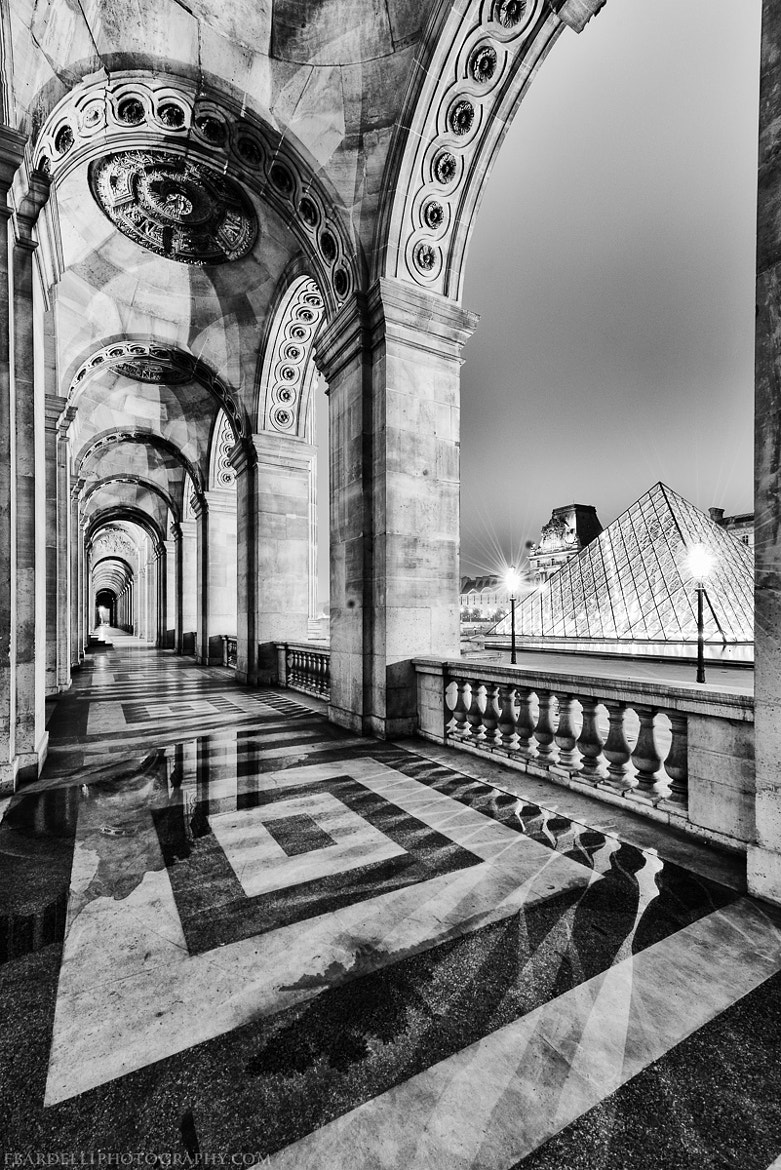 Photograph The Louvre by night by Fabien Bardelli on 500px