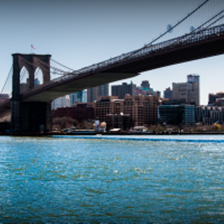 Manhattan Bridge, Nikon D90, Sigma 18-50mm F2.8 EX DC Macro