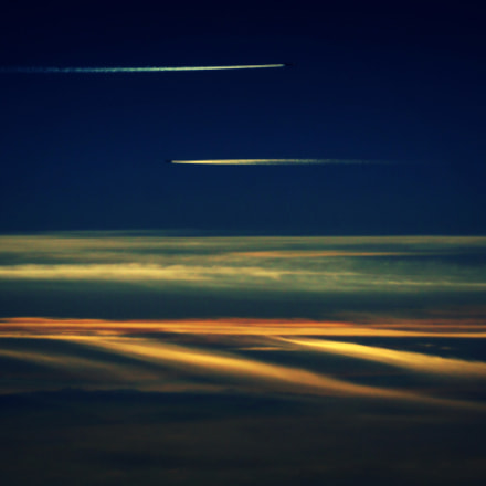Plane traffic, Sony SLT-A55V, Sony DT 55-200mm F4-5.6 SAM (SAL55200-2)