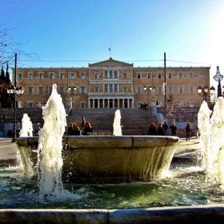 The Parliament Of Greece..., Canon POWERSHOT SX410 IS