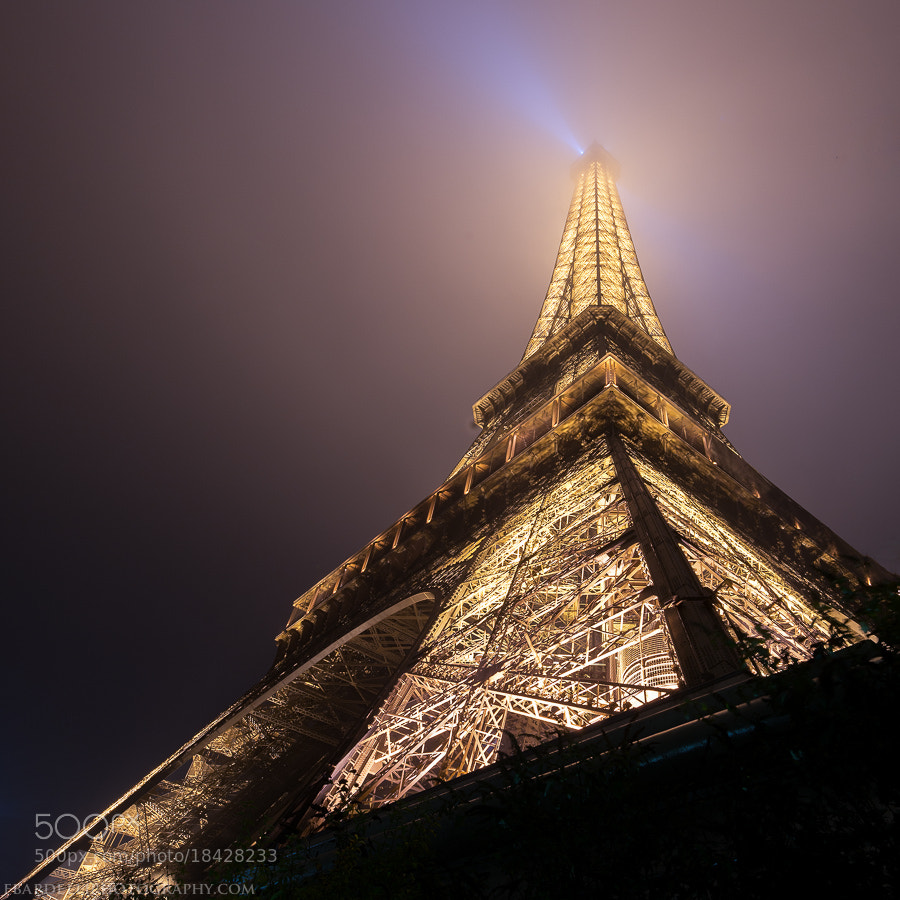 Photograph Eiffel Tower in the mist by Fabien Bardelli on 500px