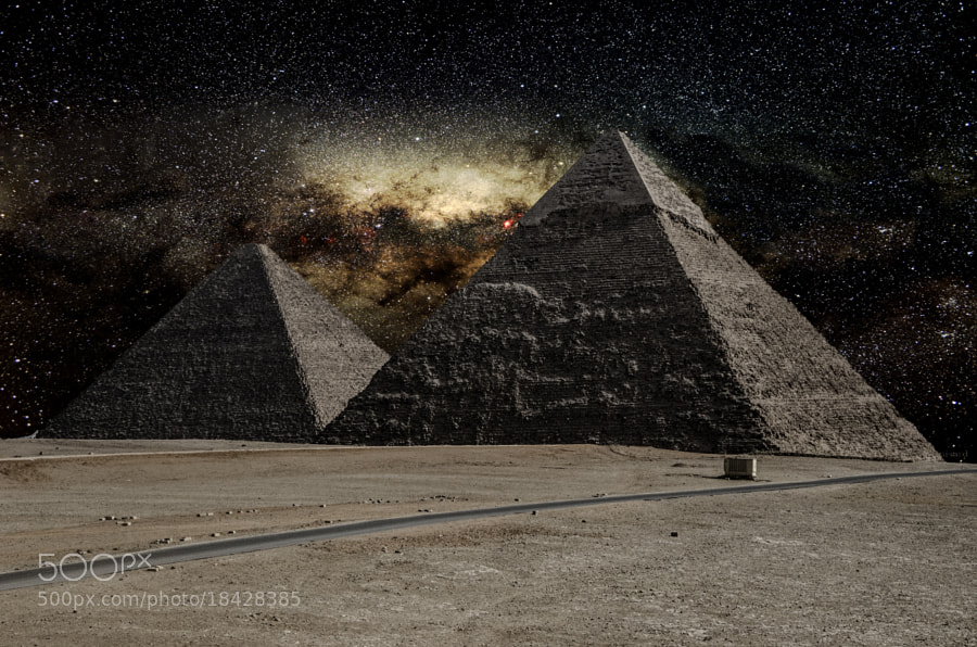 Photograph Milky River From Pyramid to other ! by jamil ghanayem on 500px
