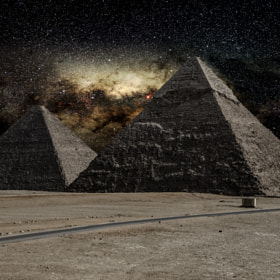 Milky River From Pyramid to other ! by jamil ghanayem (jamiline)) on 500px.com