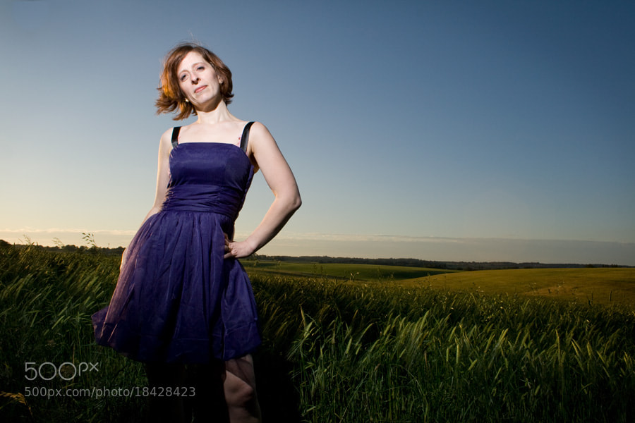 Photograph THE BLUE DRESS by Karl Batchelor on 500px