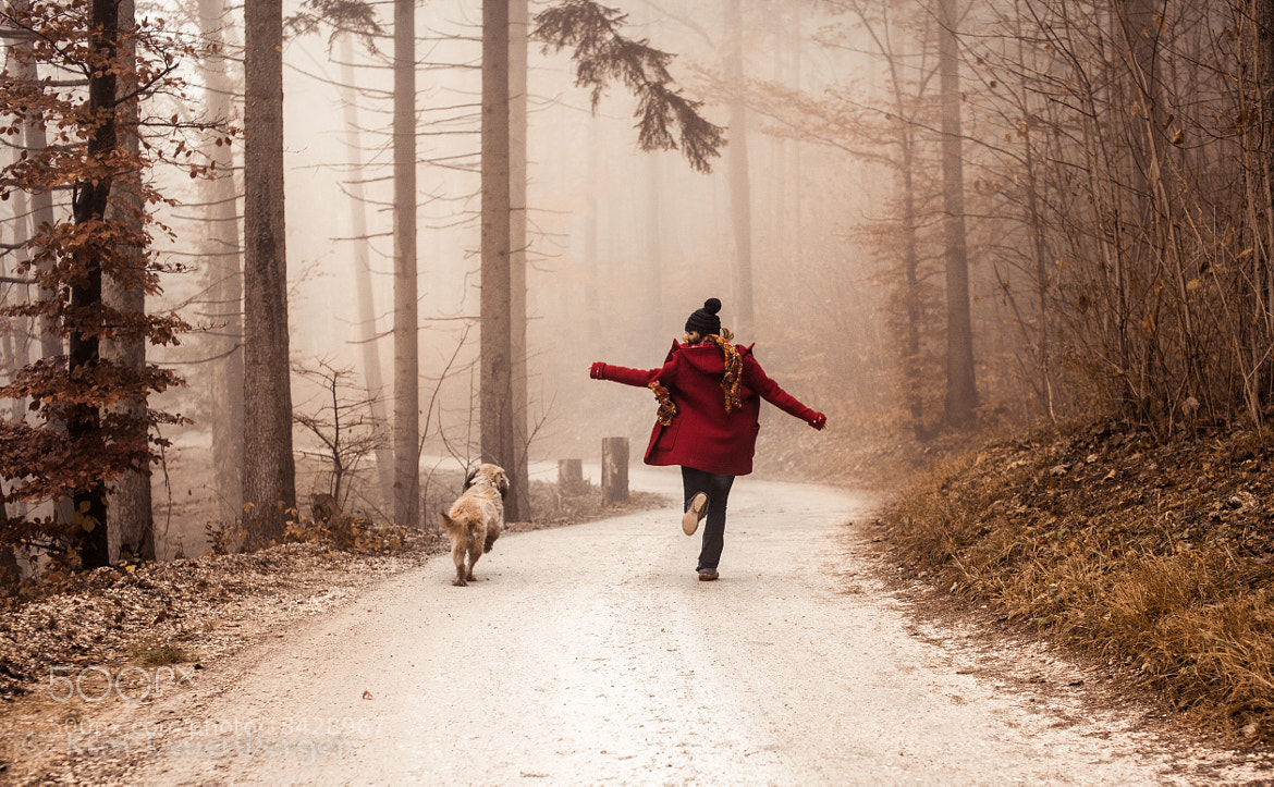 Photograph Red Riding Hood (And the Big Bad Wolf) by Kim Leuenberger on 500px