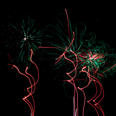 Fireworks part 2, Canon EOS REBEL T3I, Canon EF 20mm f/2.8 USM
