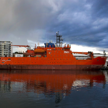 Antartic Ship in Hobart, Canon EOS-1D C, Canon EF 24-70mm f/2.8L II USM