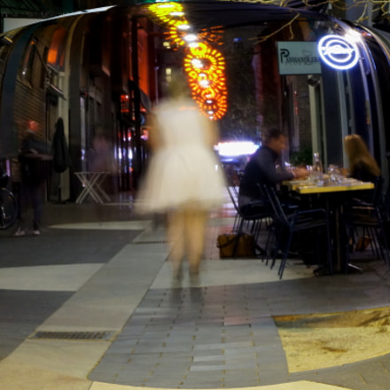 Alley Ghost, Sony ILCE-3000, Tamron 18-200mm F3.5-6.3 Di III VC