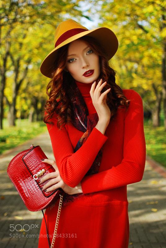 Photograph Girl Autumn  by Maya Klyam on 500px
