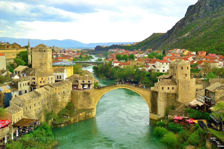 Photograph Mostar Bridge by Zeynep Ugurdag on 500px