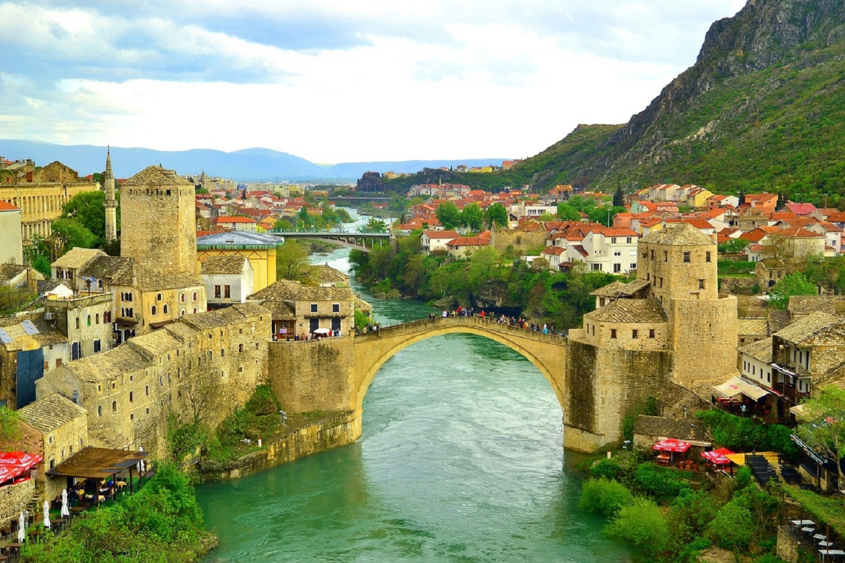 Photograph Mostar Bridge by Zeynep Ugurdag on 500px