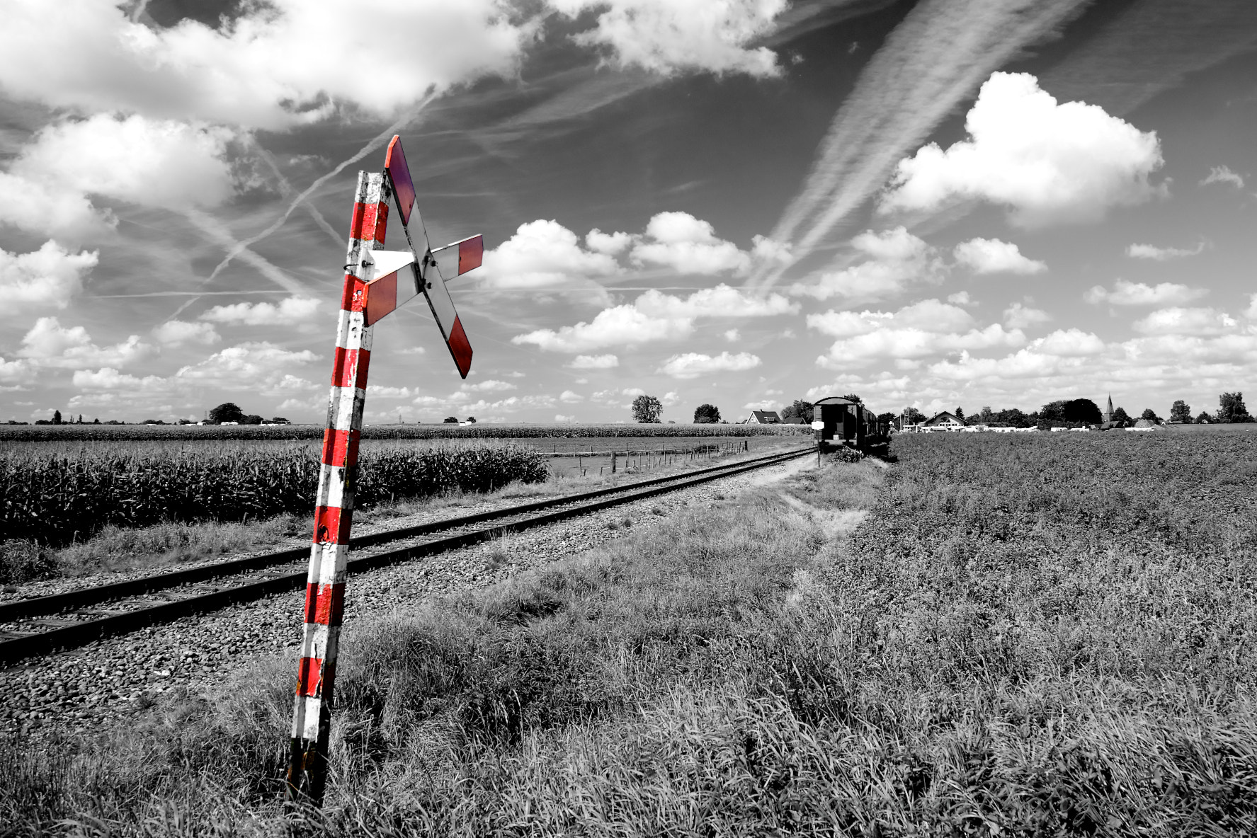Photograph railway by Jacob Rooimans on 500px