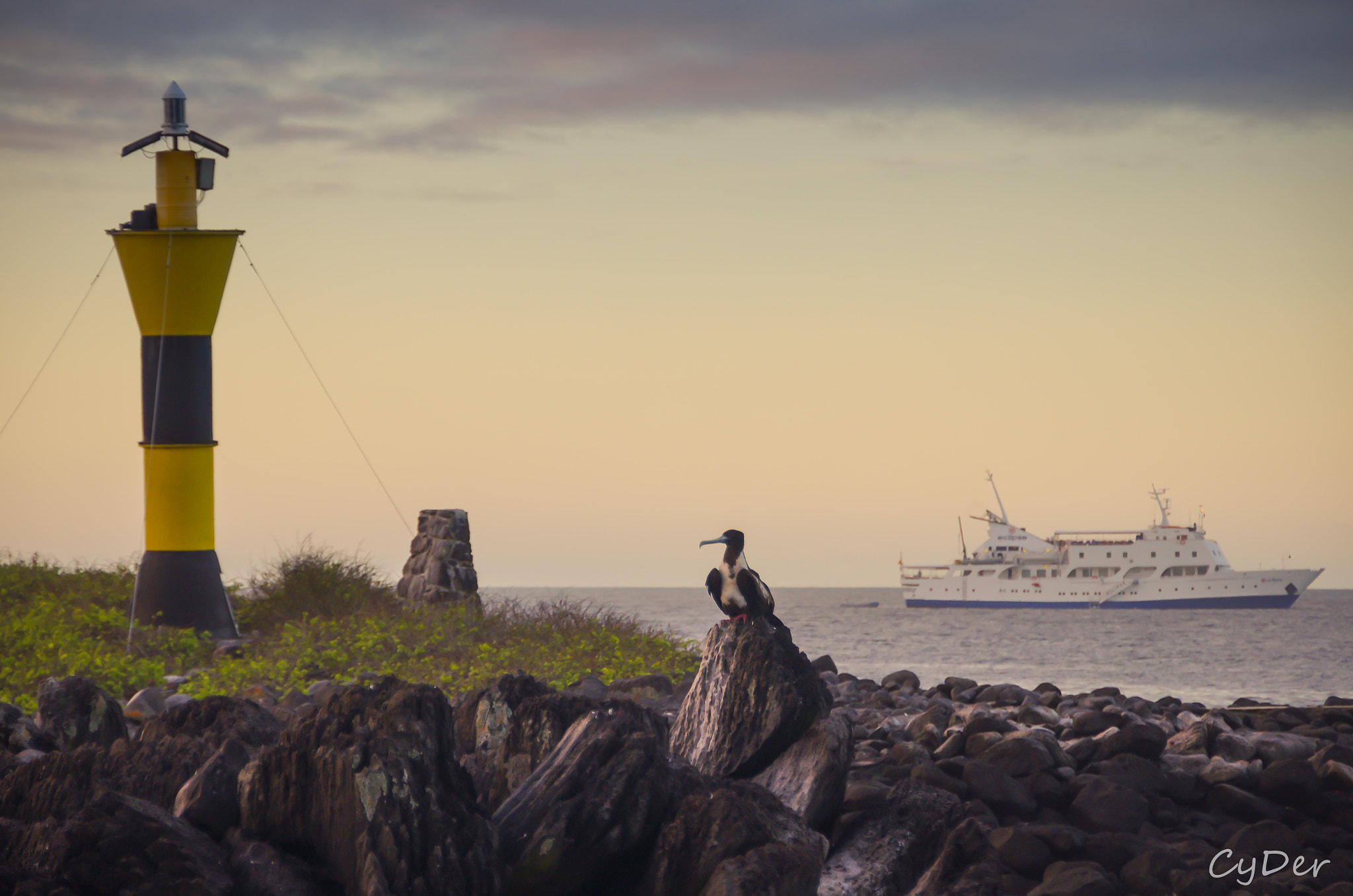 Photograph Sunset on Espanola Island, Galapagos by Cyril Deretz ARPS on 500px