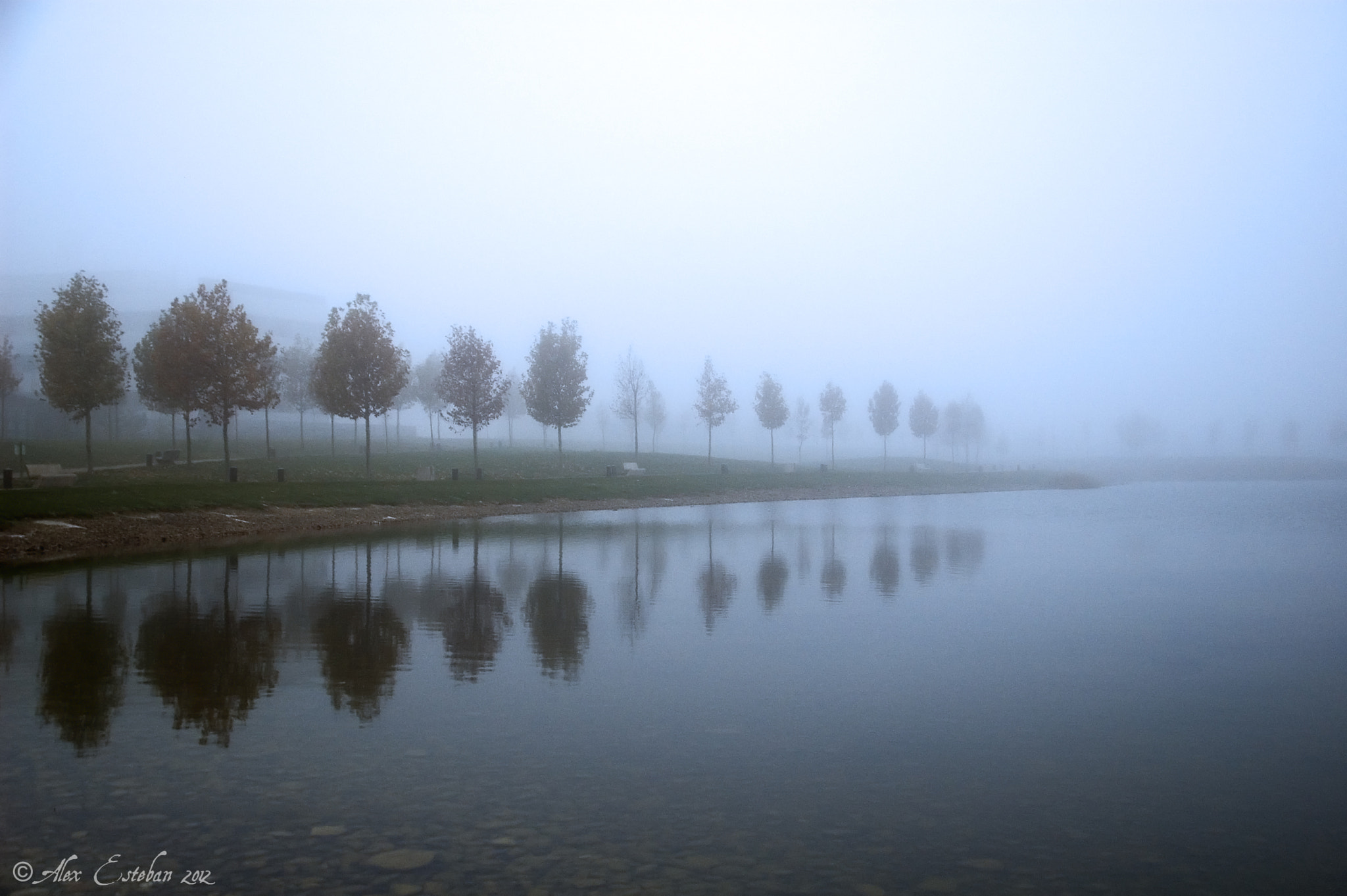 Photograph Niebla en el lago by Alex Esteban on 500px