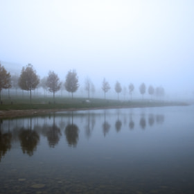Niebla en el lago by Alex Esteban (alexxl66)) on 500px.com