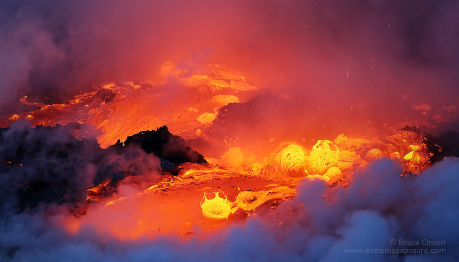 Bubbling Inferno by Bruce Omori on 500px.com