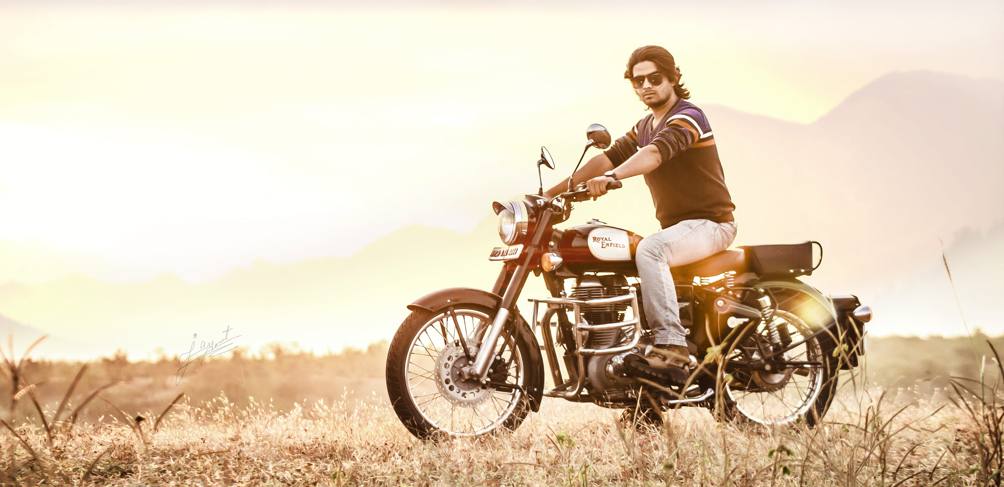 Photograph The BIKER.. by Jayant Khandelwal on 500px