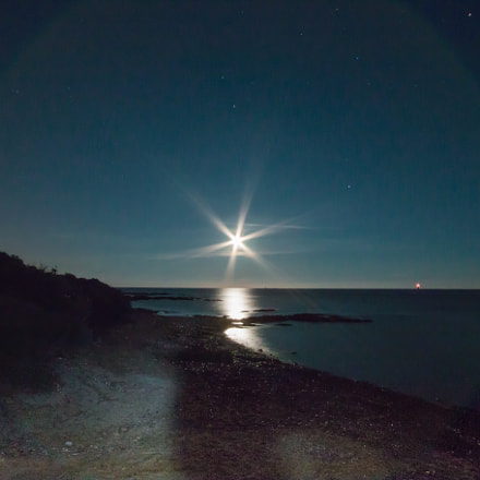 Moonrise in a wild, Canon EOS 70D, Canon EF-S 10-22mm f/3.5-4.5 USM