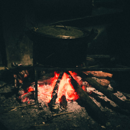 wood stove, Canon EOS 60D, Canon EF 40mm f/2.8 STM