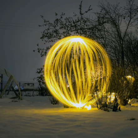 The second winter orb., Canon EOS M, Canon EF-M 22mm f/2 STM
