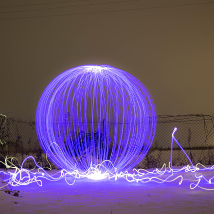 The first winter orb., Canon EOS M, Canon EF-M 22mm f/2 STM