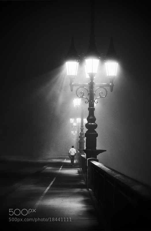 Photograph A walk in the night #8 by Magali K. on 500px