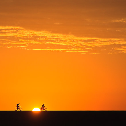 Sunrise ride, Canon EOS 450D, Canon EF-S 15-85mm f/3.5-5.6 IS USM