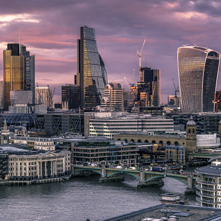 View from Tate, Sony ILCE-7M2, Tamron 18-270mm F3.5-6.3 Di II PZD