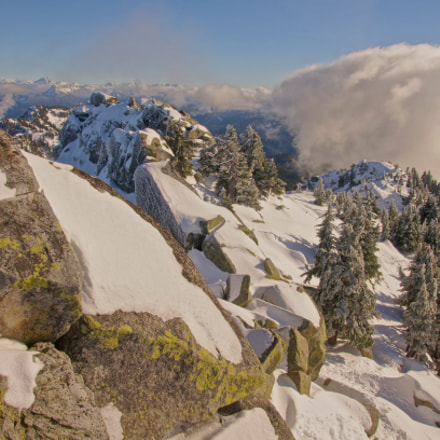 View from Mt. Pilchuck, Sony SLT-A55V, Sony DT 16-105mm F3.5-5.6 (SAL16105)