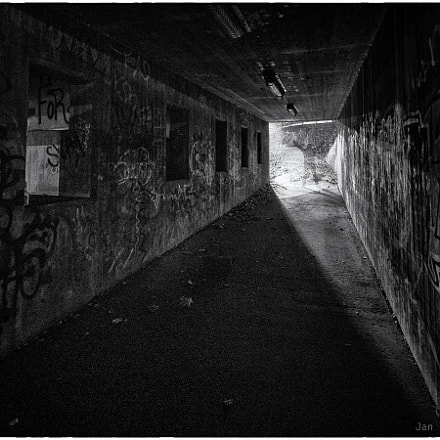 Out of the tunnel, Olympus E-M1, Lumix G Vario 7-14mm F4.0 Asph.