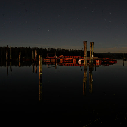 Night by the river, Canon EOS 20D, Sigma 18-35mm f/1.8 DC HSM