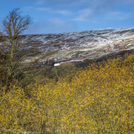 Snow in Swaledale, Yorkshire, Canon EOS 5D MARK III, Canon EF 70-300mm f/4-5.6L IS USM