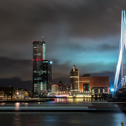 Rotterdam by night, Pentax K-30, HD PENTAX-DA 16-85mm F3.5-5.6 ED DC WR