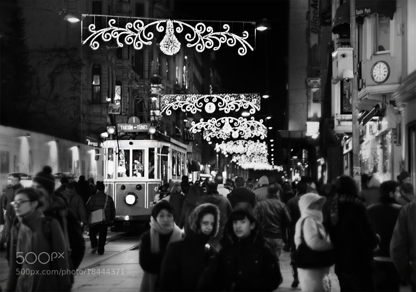 Photograph İstiklal street & Night by Timucin Toprak on 500px