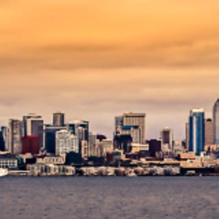 Seattle Skyline, Canon EOS REBEL T4I, Canon EF 24-105mm f/4L IS