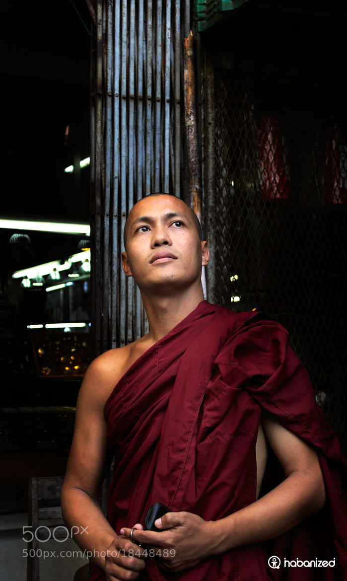 Photograph Burmese Monk by Eugene W on 500px