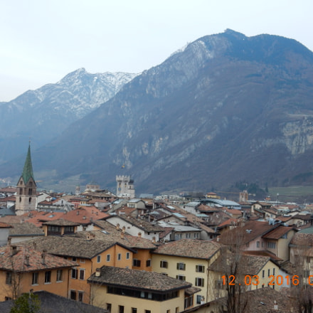 Village of Trento, Italy, Nikon COOLPIX S9900