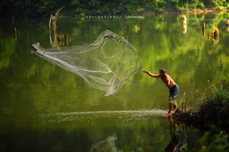 Photograph Fisherman #4 by Heri Budianto on 500px
