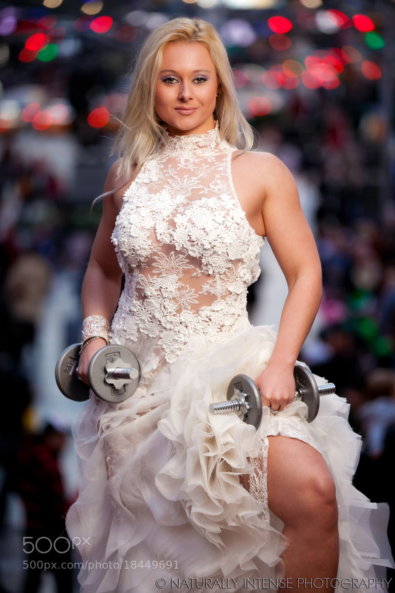 Photograph Times Square Fitness Bride by Kevin Richardson on 500px