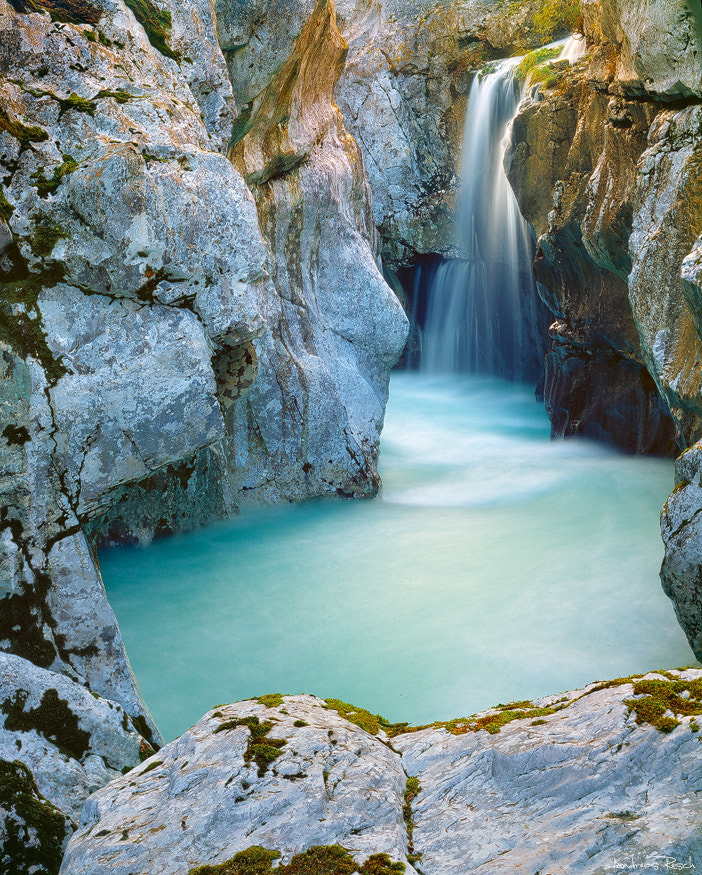 Soca Waterfall by Andreas Resch on 500px
