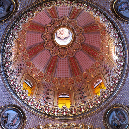 Church dome in Mexico (2014), Canon POWERSHOT G1 X