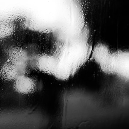 Window on a rainy, Nikon D60, AF Nikkor 50mm f/1.8D