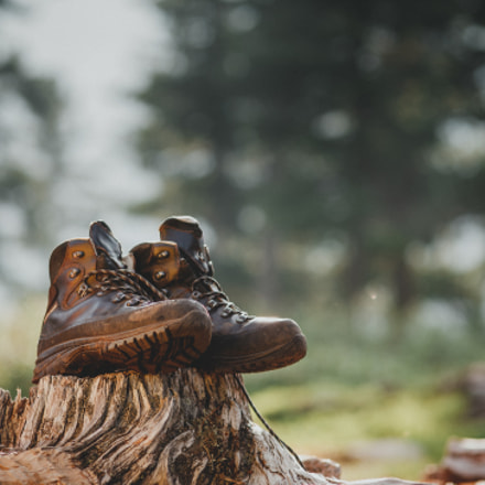 Hiking boot after a, Canon EOS 5D, Canon EF 100mm f/2 USM