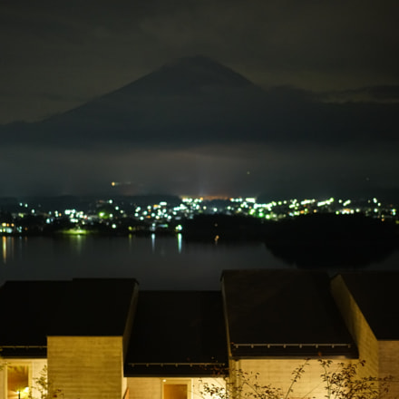 Mt.Fuji at night, Sony ILCE-7RM2, Sony FE 55mm F1.8 ZA