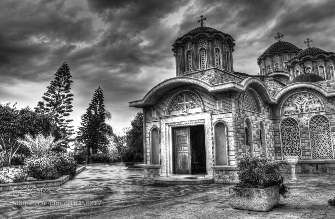 Photograph Old Church Waiting For The Storm. by Charles Nasr on 500px