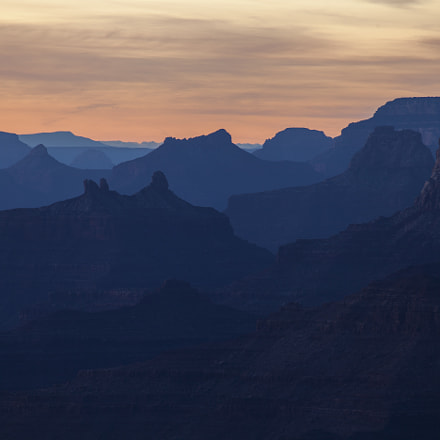 Grand Canyon Layers, Canon EOS 5D MARK II, Canon EF 100-300mm f/5.6L