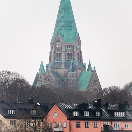 Stockholm - Sofia kyrka, Canon EOS M3, Canon EF-S 55-250mm f/4-5.6 IS STM