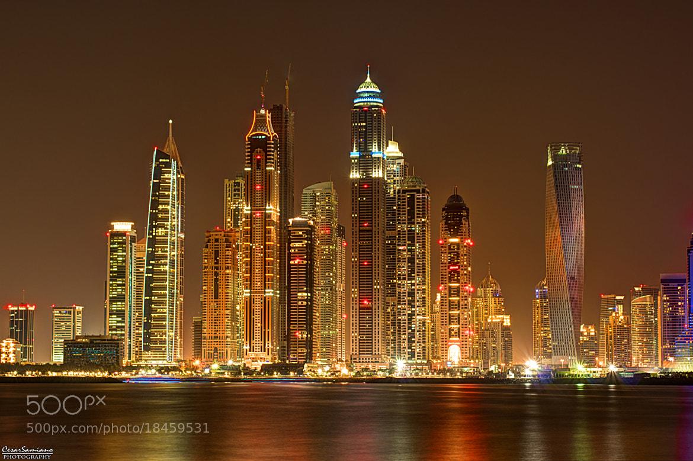 Photograph Dubai Marina by Cesar Samiano on 500px