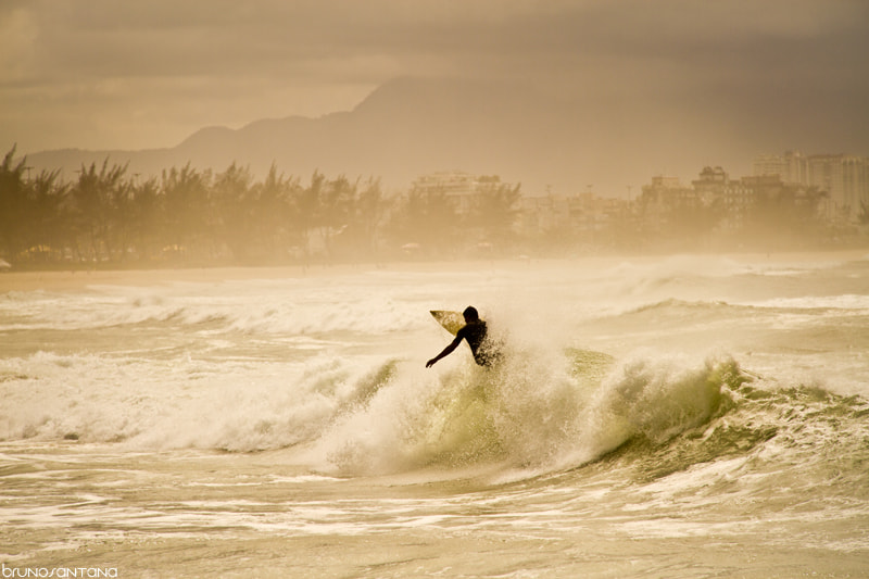Photograph Surfing.. by Bruno Santana on 500px